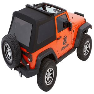 Bestop 54922-17 Black Twill Trektop NX Glide Convertible Soft Top for Jeep Wrangler JK 2-Door On Amazon