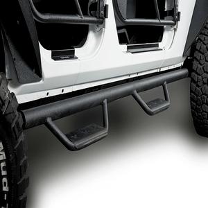 Jeep JK 4-Door Side Steps Wide Drop Nerf Bars Solid Steel Running Boards for 2007-2018 Wrangler JK On Amazon