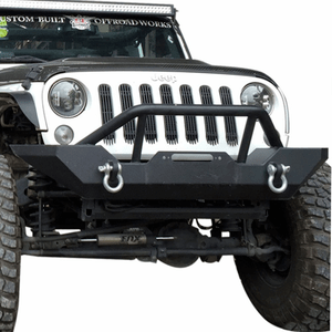 Jeep Wrangler Front Bumper Guard For 2007-2018 JK Rock Crawler with Winch Plate