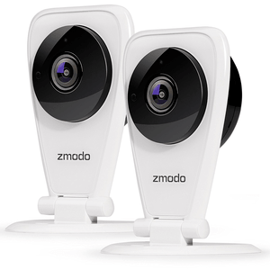 Zmodo EZ Cam 720p HD Wi-Fi Wireless Security Surveillance IP Camera System with Night Vision
