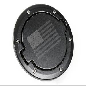 Fuel Filler Door Cover Gas Tank Cap 2/4 Door For Jeep Wrangler JK-Black (USA Flag) On Amazon