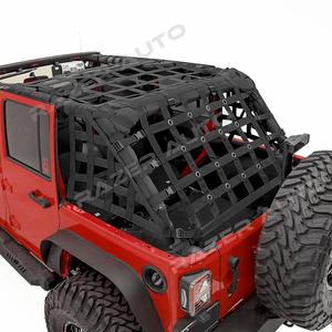 Jeep Cargo Net For 2007-2018 Jeep Wrangler JK 4-Door Models By Razer Auto On Amazon