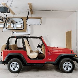 Jeep Wrangler Overhead Storage Hardtop Removal Hoist On Amazon