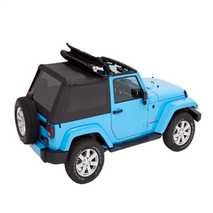 Bestop Black Diamond Trektop Jeep Soft Top For 2007-2018 Jeep Wrangler JK 2-Door Models 56852-35 On Amazon