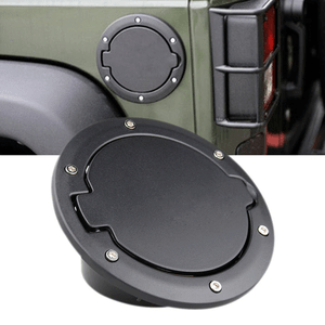 Jeep Fuel Filler Door Cover Gas Tank Cap For 2007-2017 Jeep Wrangler JK & Unlimited On Amazon