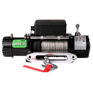 OFFROAD BOAR 13000 lb. Electric Jeep Winch With Waterproof Synthetic Rope On Amazon