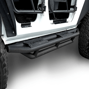 Jeep Wrangler 4 Door Side Steps Running Board Rocker Guards for 2007-2018 Jeep Wrangler JK Unlimited On Amazon