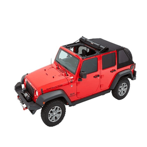 Black Twill Trektop Jeep Soft Top Replacement For 2007-2018 Jeep Wrangler JK Unlimited 4-Door On Amazon