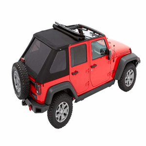 Bestop 56853-35 Black Diamond Trektop for 2007-2018 Jeep Wrangler JK Unlimited 4-Door On Amazon