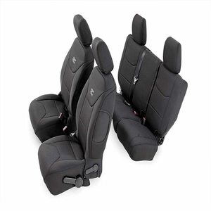 Rough Country 91003 Black Neoprene Seat Cover For 2011-2012 Jeep Wrangler Unlimited JK On Amazon