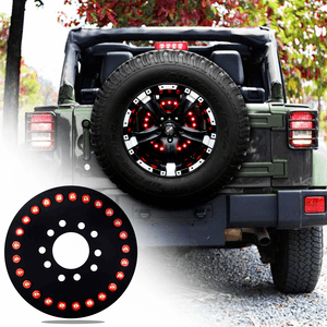 Jeep Spare Tire LED Third Brake Light For 2007-2017 Jeep Wrangler JK JKU Models On Amazon