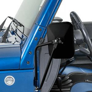Textured Black Jeep Wrangler Quick Release Mirrors For Jeep Models JK JKU TJ CJ On Amazon