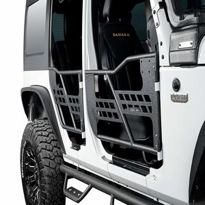 Jeep Wrangler JK Unlimited Half Doors 4-Door With Front & Rear Doors By Hooke Road On Amazon