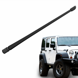 Jeep Wrangler Antenna For JK JL (2007-2021) | 13 inches Flexible Rubber Antenna On Amazon