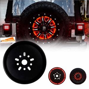 Ring Spare Tire Brake Light For 2007-2017 Jeep JK JKU Models Red LED Wheel Light On Amazon