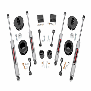 Rough Country 2.5-Inch Lift Kit Fits 2018-2021 Jeep Wrangler JL Suspension System On Amazon