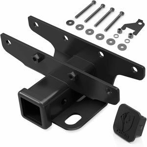 2018-2021 Jeep Wrangler JL 2-Inch Hitch Receiver Kit Factory Style With Lifetime Warranty On Amazon