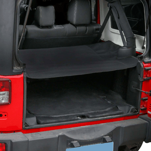 Jeep Cargo Cover For 2007-2018 Jeep Wrangler JK Unlimited 4-Door Models By Hooke Road On Amazon