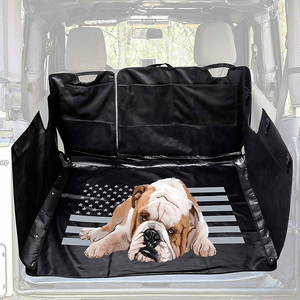 Waterproof Dog Jeep Cargo Cover For 2007-2018 Jeep Wrangler JK JKU Models Storage Case On Amazon
