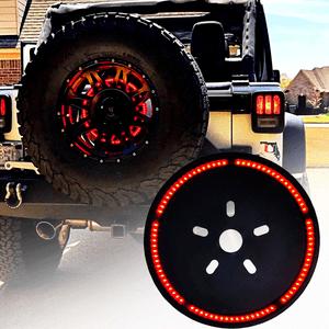 Jeep Wrangler Spare Tire Brake Light For for 1987-2019 Jeep JL JLU JK JKU YJ TJ LJ YJ Models On Amazon
