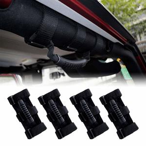 Jeep Grab Handles For 1995-2018 YJ TJ JK JKU Wranglers 4X Roll Bar Grab Handles On Amazon