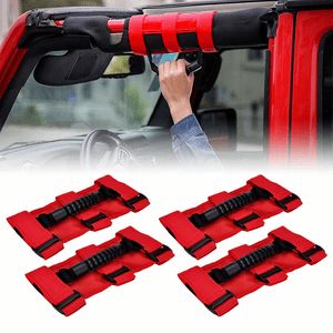 Jeep Wrangler JK & JK Unlimited Grab Handle Roll Bar Front Rear Grab Bar Grip Handle Bar Pair On Amazon