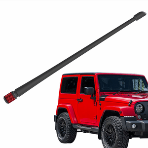 Jeep Wrangler Antenna JK JL 2007-2021 | 13 inches Flexible Rubber Antenna On Amazon