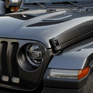 Jeep Wrangler JL Original Black Stainless Steel Hood Latches 2007-2021 JK JL On Amazon