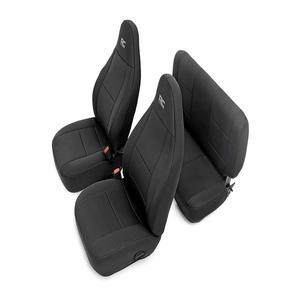 Rough Country 91001 Black Neoprene Seat Cover For 2003-2006 Jeep Wrangler TJ LJ On Amazon