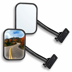 Doors Off Quick Release Side View Jeep Mirrors For Jeep Wrangler TJ JK Models On Amazon