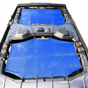 Alien Sunshade Jeep Sunshade For Jeep Wrangler JL 4 Door 2-Piece Front & Rear On Amazon
