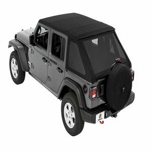 Bestop Trektop 5686217 Jeep Soft Top For The 4-Door Jeep Wrangler JL 2018-2020 Fastback Design On Amazon