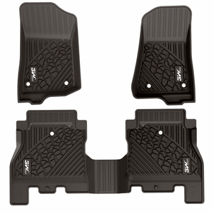 Floor Mats for Jeep Wrangler JL 2018-2019 All Weather Unlimited 4-Door On Amazon