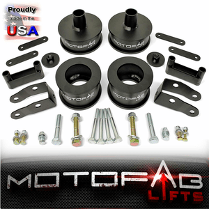 3-Inch Jeep Wrangler JK Full Lift Kit With Shock Extenders For 2007-2018 Models By MotoFab Lifts On Amazon
