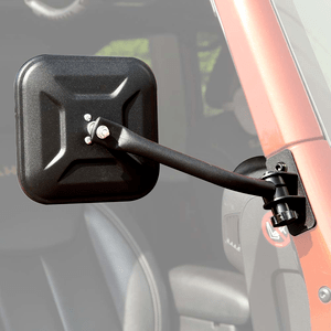 Jeep Doors Off Square Mirrors For 2007-2017 Jeep Wrangler JK and JKU Models On Amazon