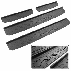 2018-2019 Jeep JL Door Sill Guards Entry Plate Covers For Jeep Wrangler JL Models On Amazon