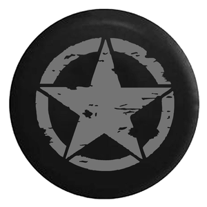 Oscar Mike Military Tattered Tactical Star Spare Jeep Tire Cover In Multiple Sizes On Amazon