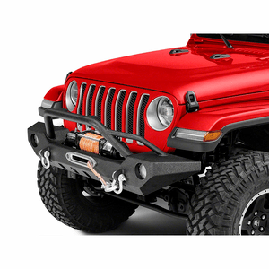 Premium Heavy-Duty Jeep Front Winch Bumper For Jeep Wrangler JL 2018-2019 Models By Barricade On Amazon