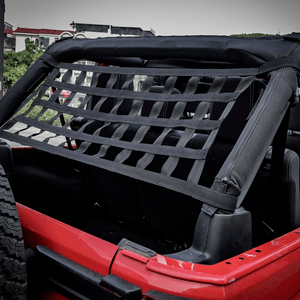 Jeep Mesh Cargo Net With Hammock Feature For 1987-2021 Jeep Wrangler Models On Amazon