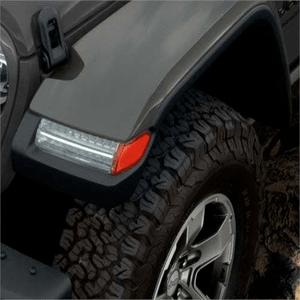 Factory OEM Mopar Jeep JL Fender Flares For 2018-2019 4-Door Unlimited Models On Amazon