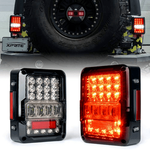 Jeep LED Tail Lights And Rear Turn Lights For 2007-2018 Jeep Wrangler JK JKU On Amazon