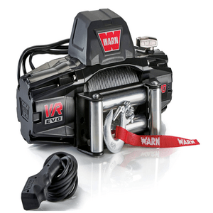 WARN 103252 10000 lb. 12V Electric Jeep Winch With Steel Cable Wire Rope On Amazon