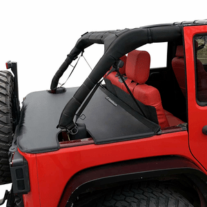 Jeep Cargo Cover Tailgate For Jeep Wrangler JK Unlimited 4-Door 2007-2018 Models On Amazon