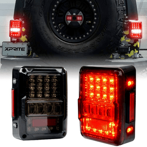 LED Jeep Tail Lamp Replacement Tail Lights For 2007-2018 Jeep Wrangler JK On Amazon
