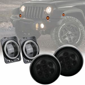 Jeep Side Marker And Turn Signal LED Light Kit For 2014-2018 Jeep Wrangler JK And JKU Models On Amazon