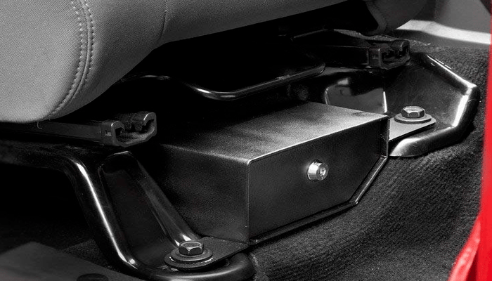 Jeep Lock Box