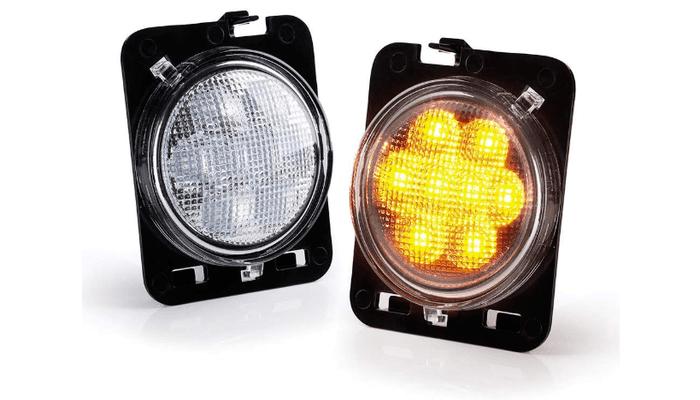 Jeep Side Marker Lights