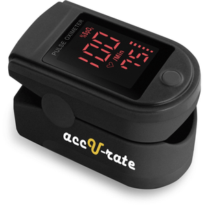 Acc U Rate Pro Series CMS 500DL Fingertip Pulse Oximeter Blood Oxygen Saturation Monitor