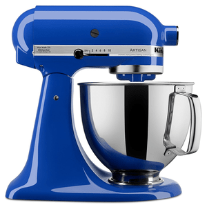 KitchenAid Artisan Series Stand Mixer with Pouring Shield, 5 quart, Twilight Blue Model KSM150PSTB