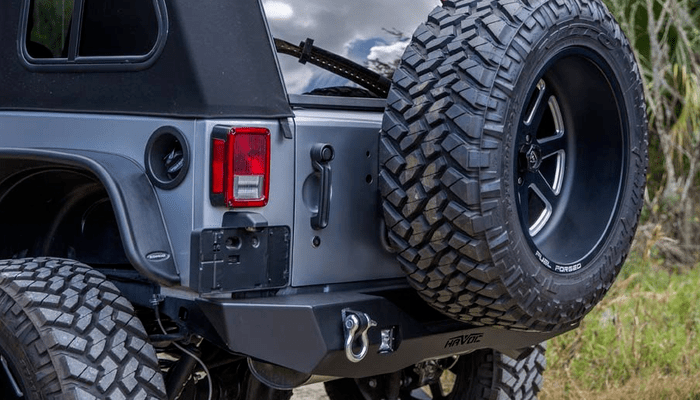Jeep Wrangler Rear Bumpers